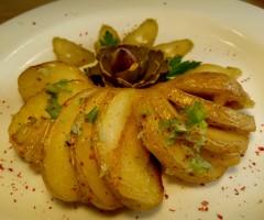 Картошка-гармошка.Запеченный картофель с салом