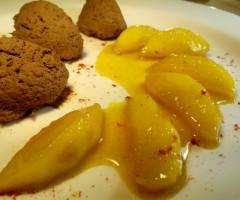 Печеночный паштет с топленым салом и сладко-острыми яблоками
