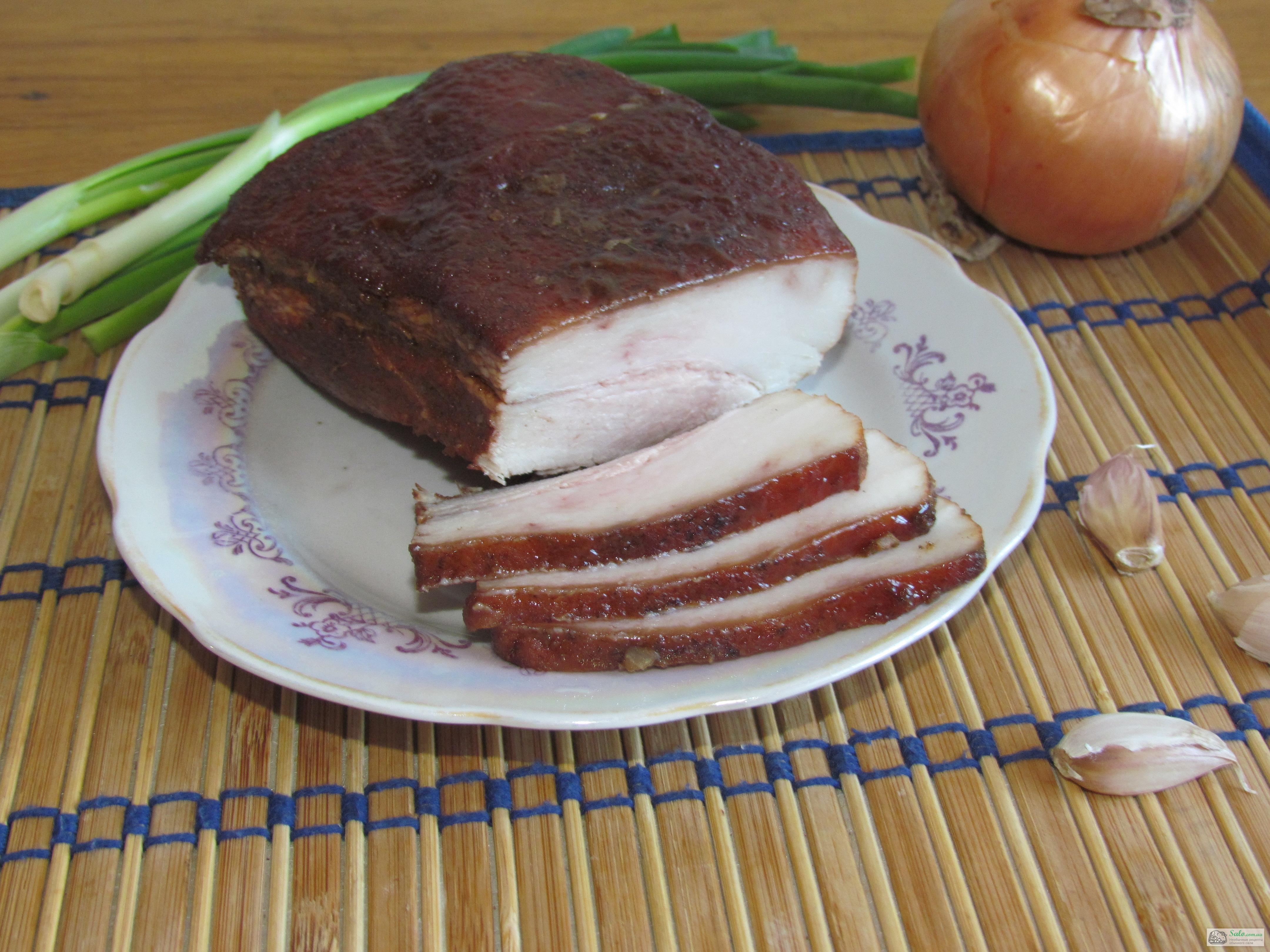 Как солить сало в луковой шелухе рецепт пошагово