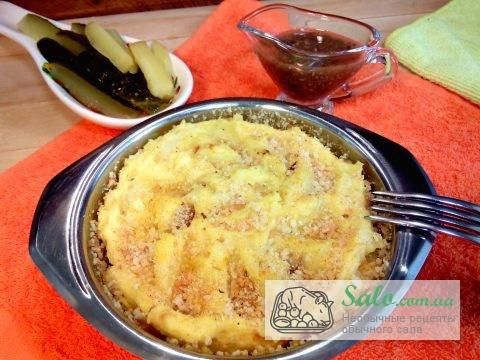 Картошка со шкварками рецепт с фото