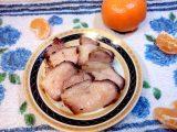 Подчеревок в рукаве под мандариновым соусом
