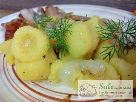 Картофельные клецки