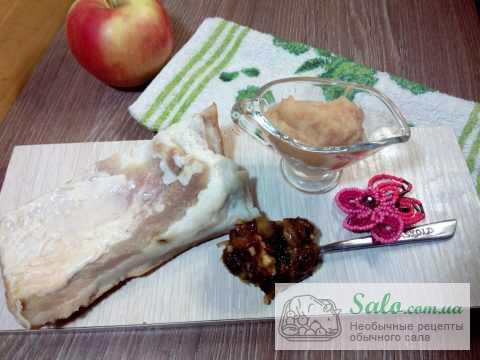 Подчеревок с витаминной смесью и яблочным пюре